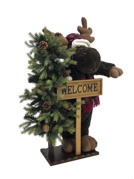 Christmas moose, standing, 100cm