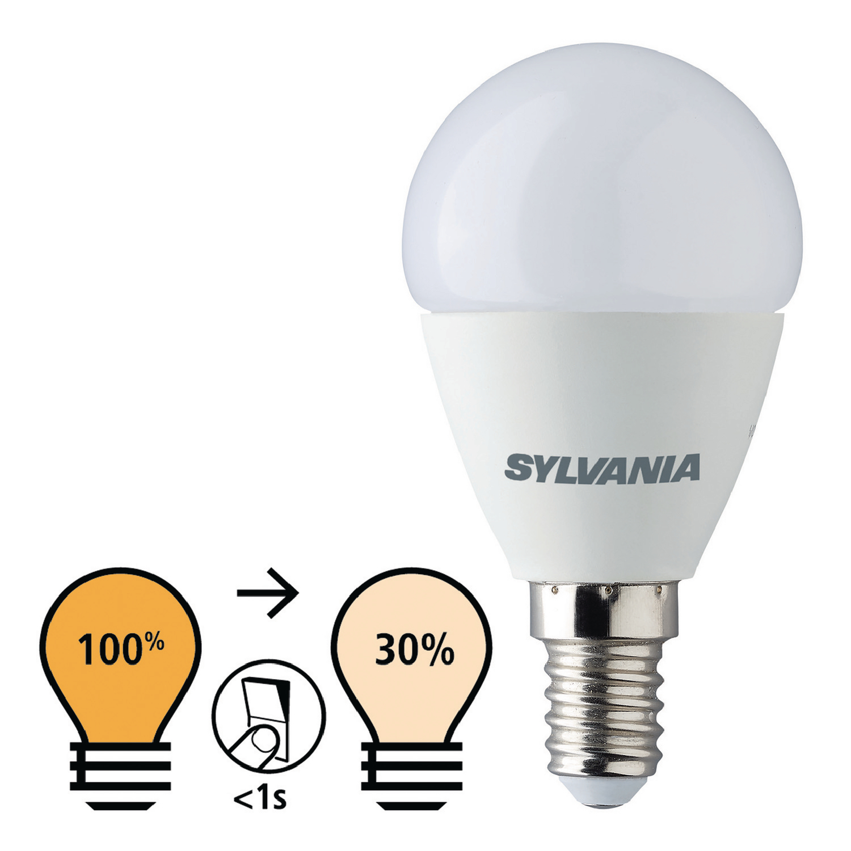Billede af LED Pære E14 Rundformet 5.5 W 470 lm 2700 K