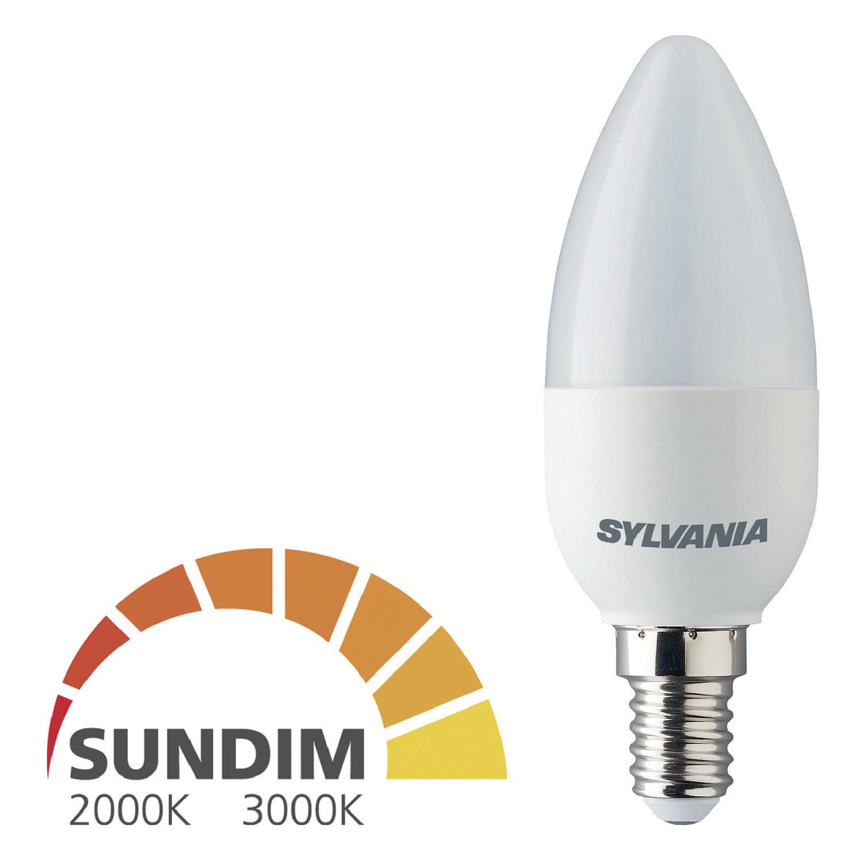 Billede af LED Pære E14 Stearinlys 6.5 W 470 lm 2700K - 2000 K