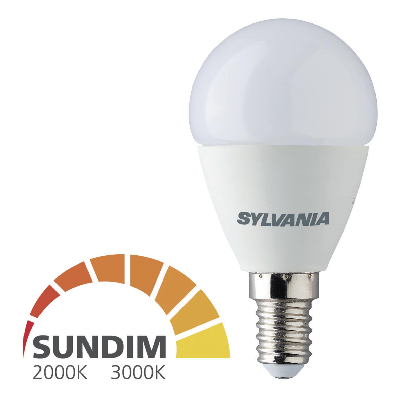 Billede af LED Pære E14 Rundformet 6.5 W 470 lm 2700K - 2000 K