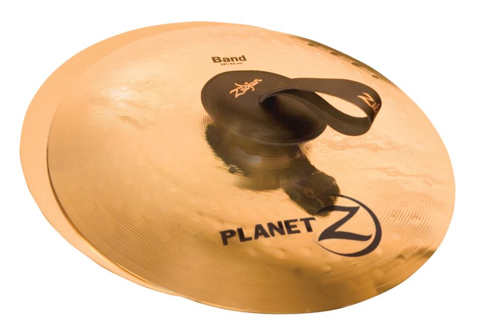 """Billede af Zildjian 14"""" Planet Z Band - Pair Orkesterbækkener"""