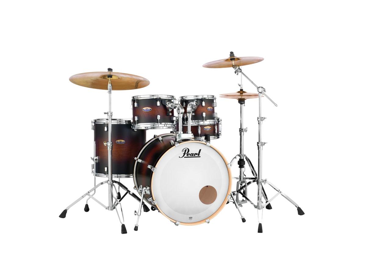 Billede af Pearl Decade Maple Standard Trommesæt Satin Brown Burst
