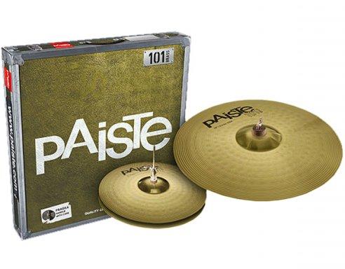 Billede af Paiste 101 Brass Essential Bækkenpakke