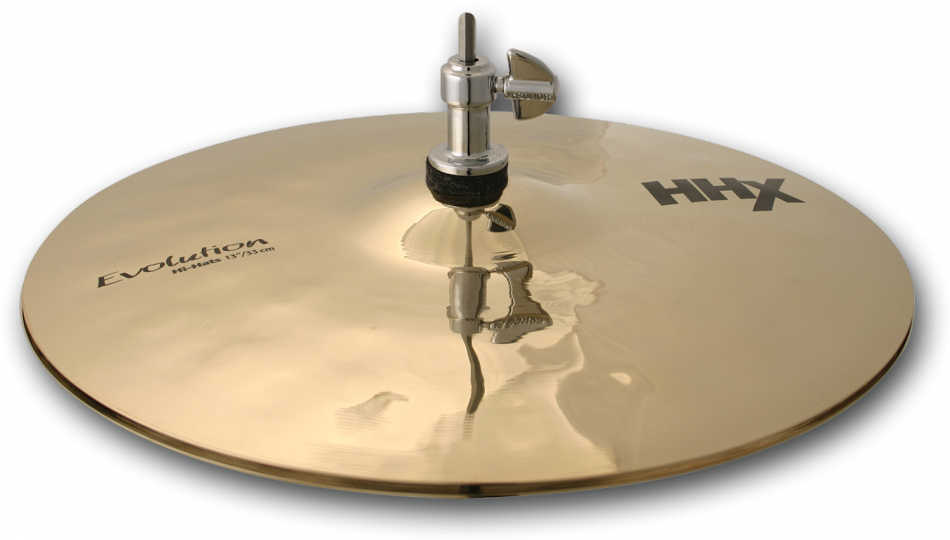 "Billede af Sabian 13"" HHX Evolution Hi-hat (Brilliant Finish)"