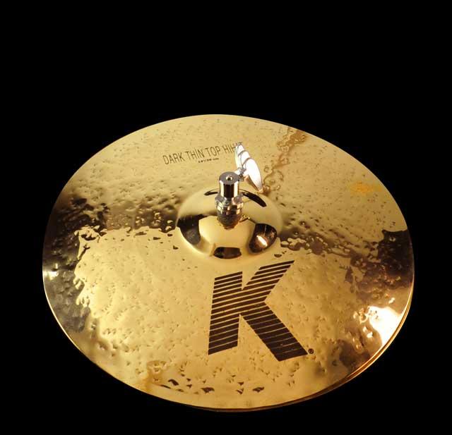 "Billede af Zildjian 14"" K Dark Thin Hi-hat - Brill. Finish "" Limited"" DEMO"