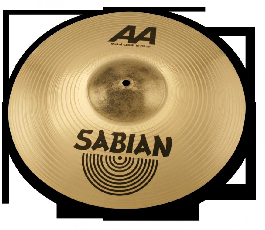 """Billede af Sabian 16"""" å Metal Crashbækken"""