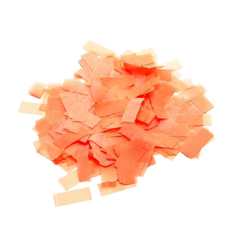 Billede af UV aktiv Papir konfetti Orange (UV aktiv)