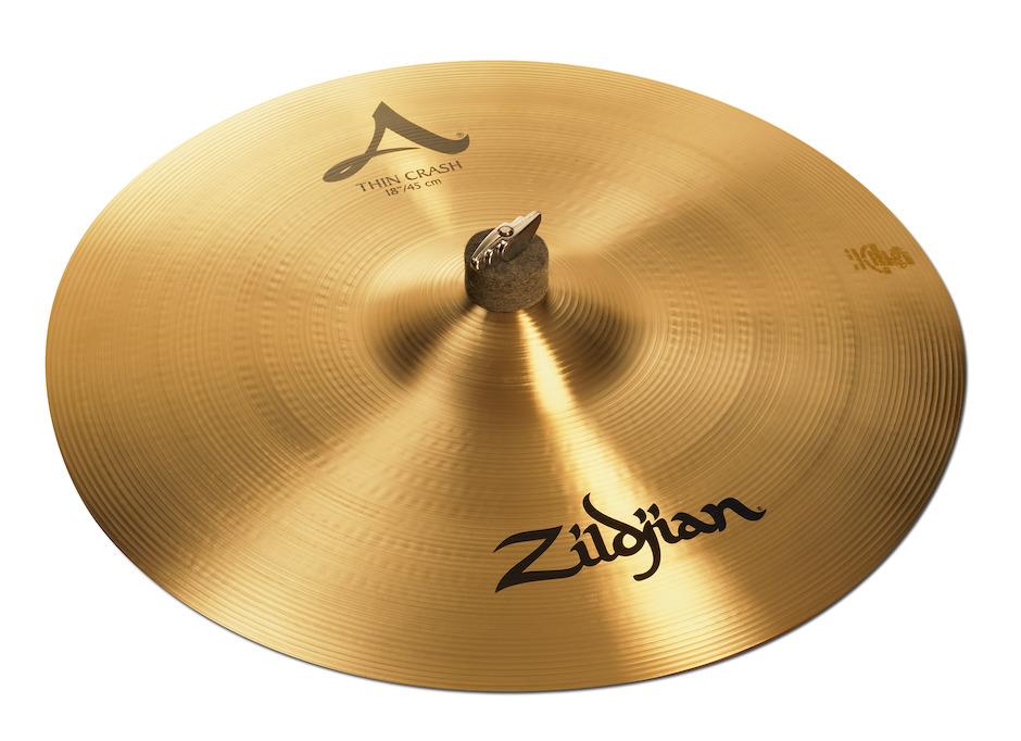 """Billede af Zildjian 18"""" A Thin Crashbækken"""