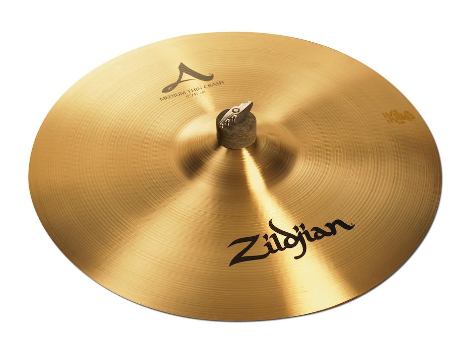 """Billede af Zildjian 17"""" A Zildjian Medium Thin Crashbækken"""