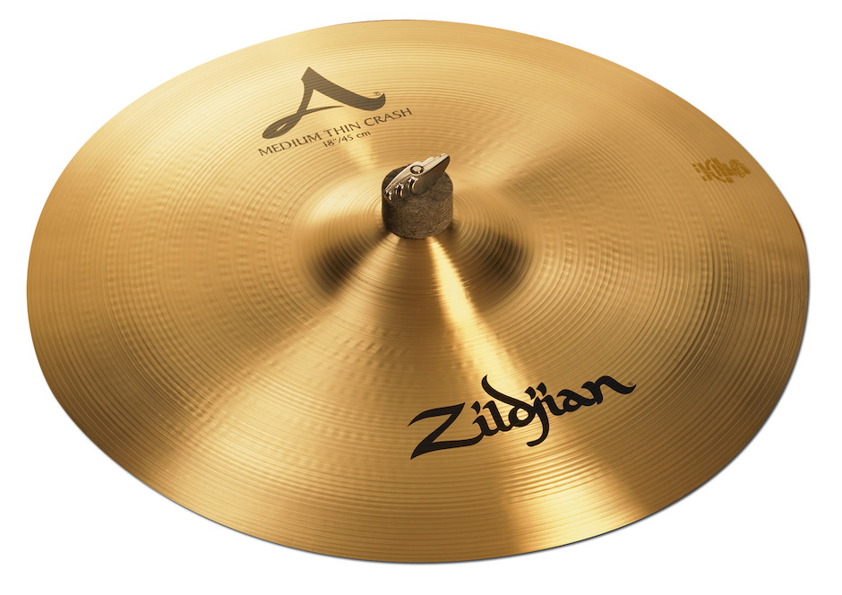 """Billede af Zildjian 18"""" A Medium Thin Crashbækken"""