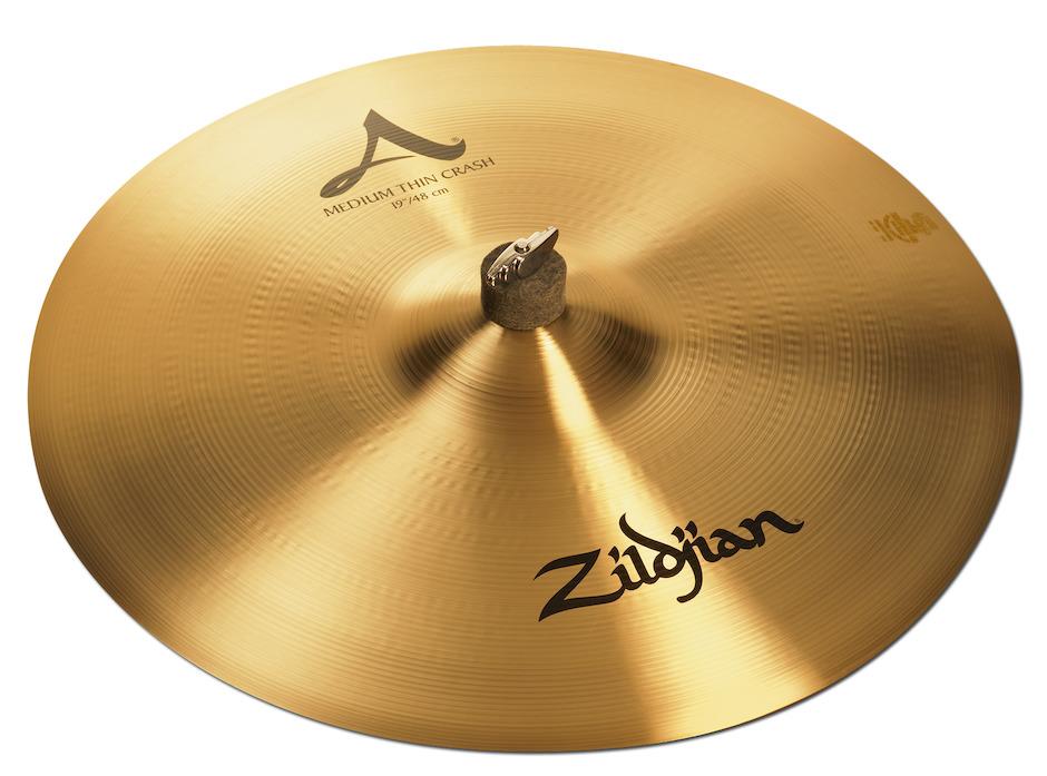 """Billede af Zildjian 19"""" A Medium Thin Crashbækken"""