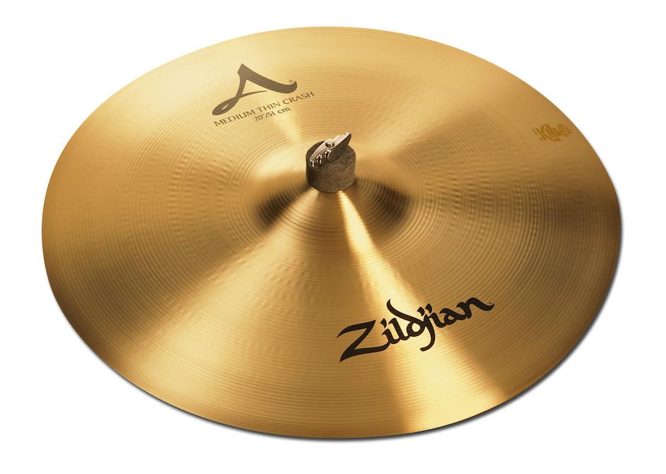 """Billede af Zildjian 20"""" A Medium Thin Crashbækken"""