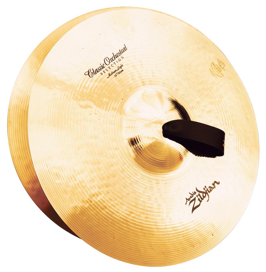 """Billede af ZILDJIAN Orchestral Cymbals Medium Light 16"""" Orkesterbækkener"""