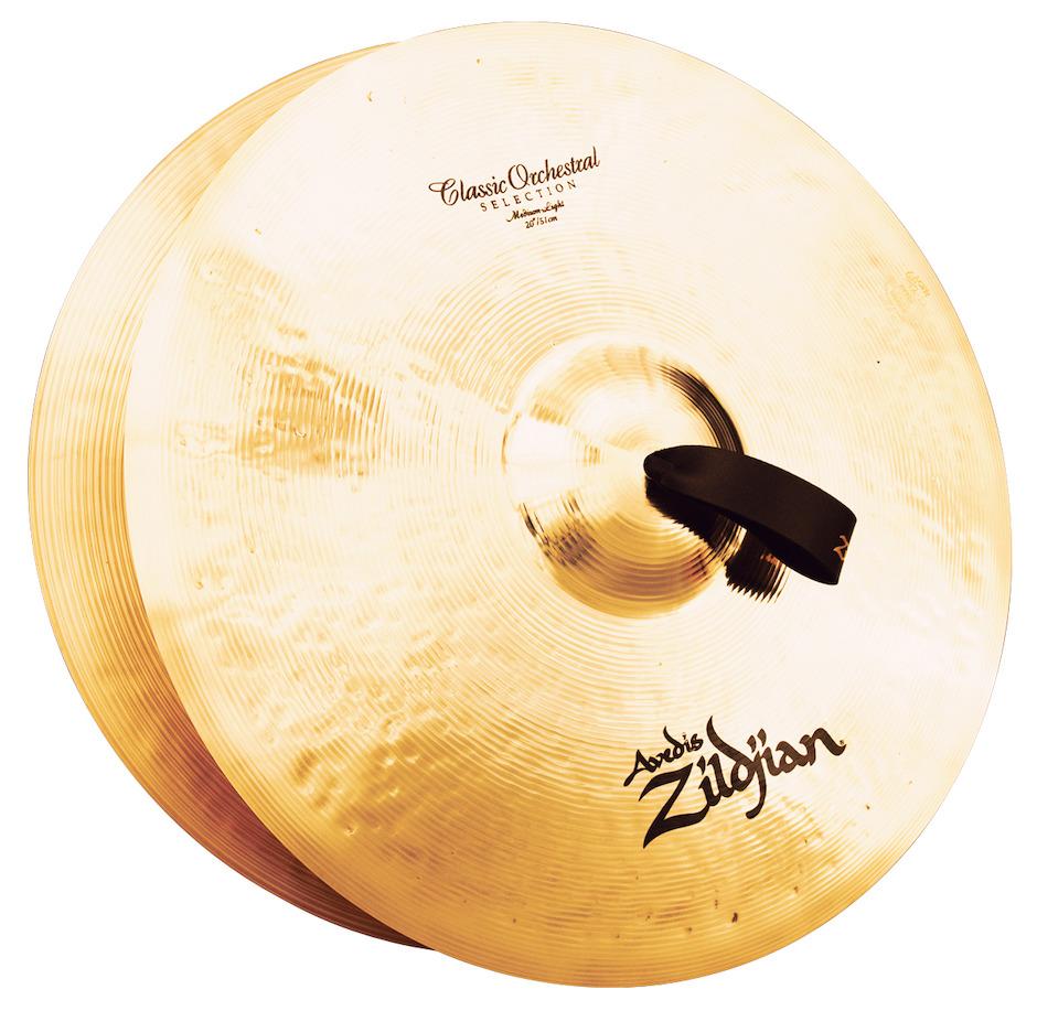 """Billede af Zildjian 20"""" Classic Orchestral Selection Medium Light Orkesterbækkener"""