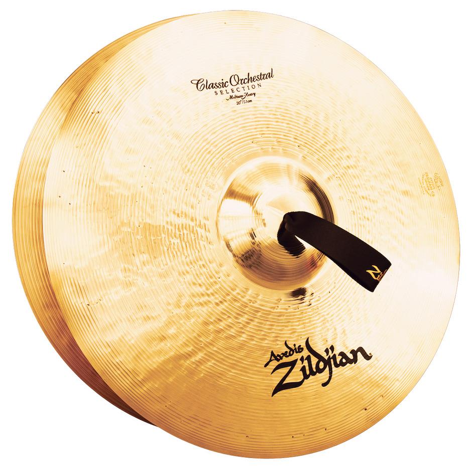 """Billede af Zildjian 20"""" Classic Orchestral Selection Medium Heavy Orkesterbækkener"""