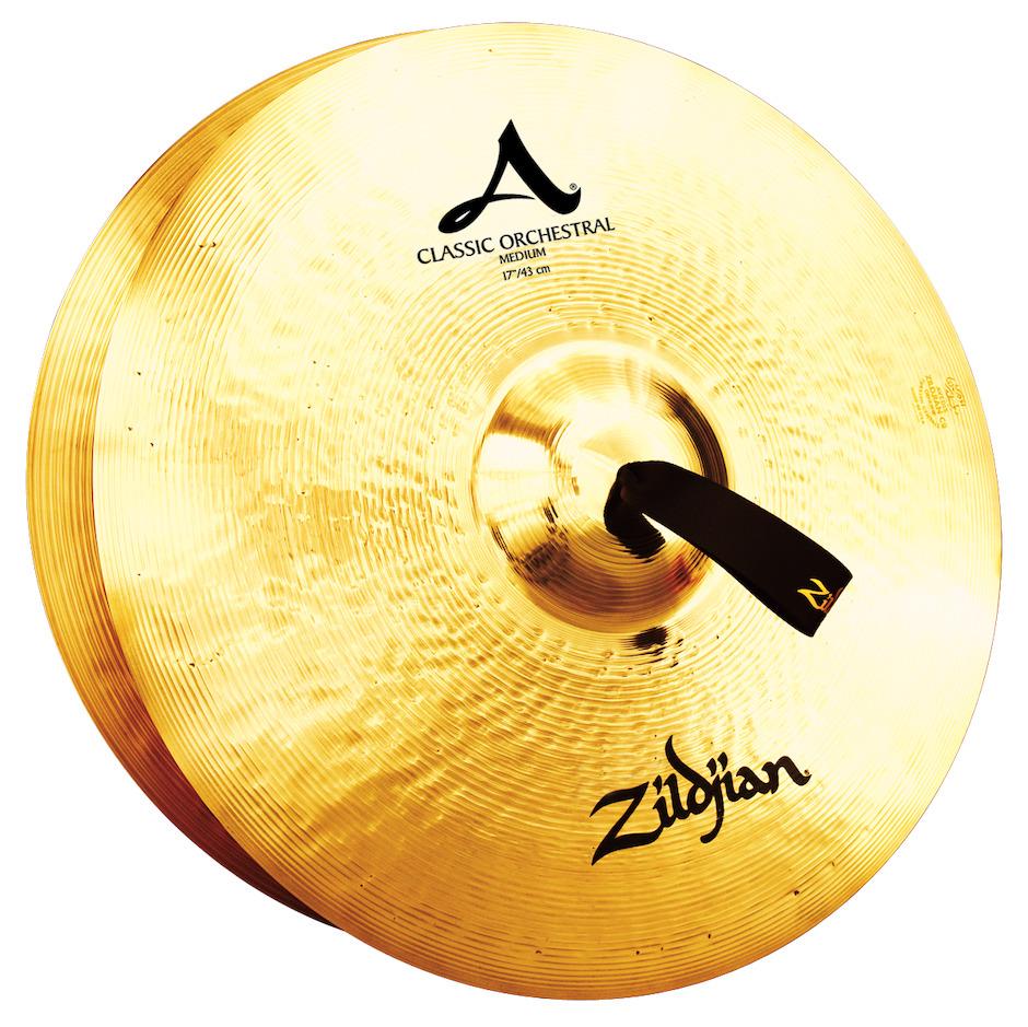 """Billede af Zildjian 17"""" Classic Orchestral Selection Medium Orkesterbækkener"""