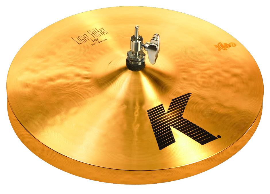 """Billede af Zildjian 14"""" K Light Hihatbækken"""