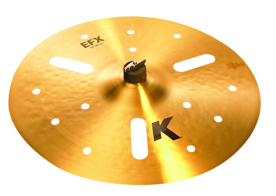 """Billede af Zildjian 18"""" K Zildjian EFX Crashbækken"""