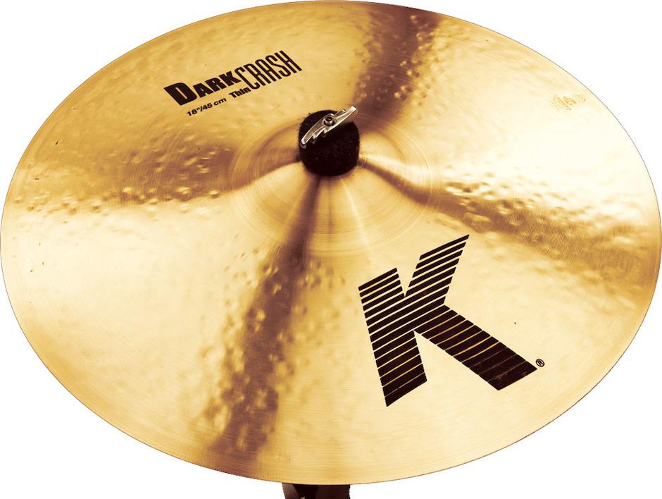 """Billede af Zildjian 18"""" K Dark Thin Crashbækken"""