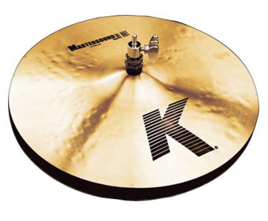 """Billede af Zildjian 14"""" K Master Sound Hihatbækken"""