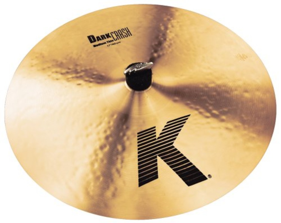 "Billede af Zildjian 17"" K Zildjian Dark Crash Medium Thin Crashbækken"