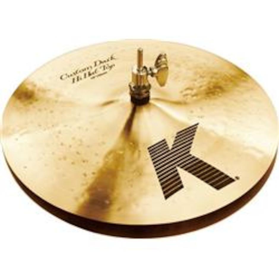 """Billede af Zildjian 13"""" K Custom Dark Hi-hat"""