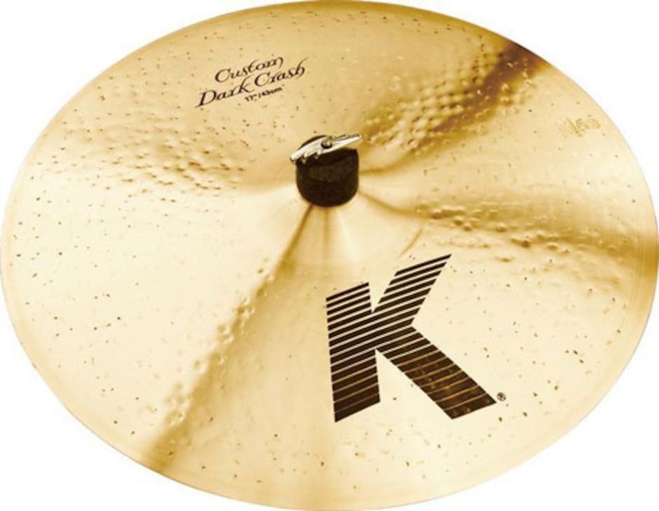 "Billede af Zildjian 17"" K Custom Dark Crashbækken"