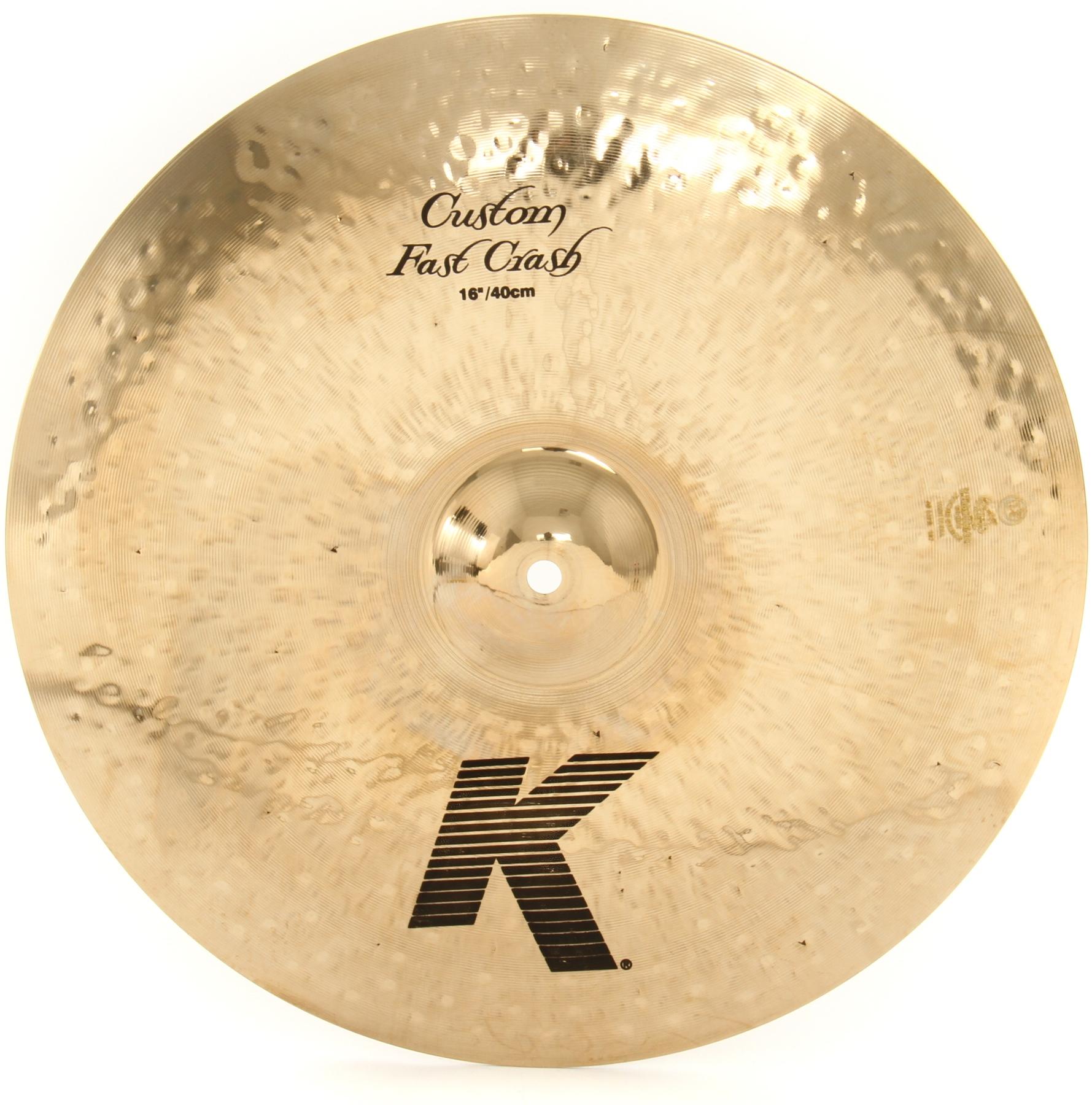 """Billede af Zildjian 16"""" K Custom Fast Crashbækken"""