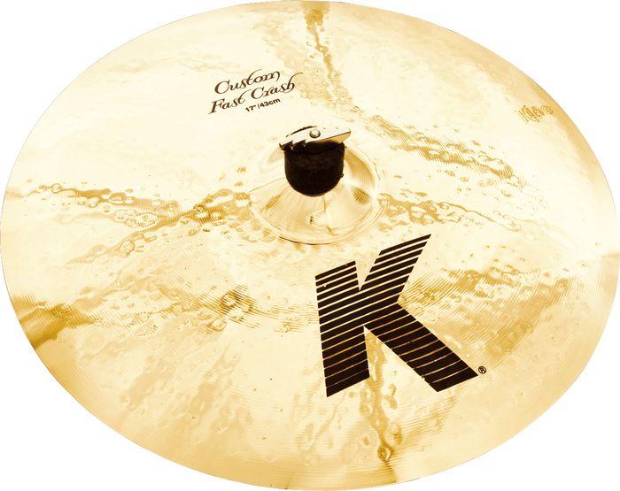 """Billede af Zildjian 17"""" K Custom Fast Crashbækken"""