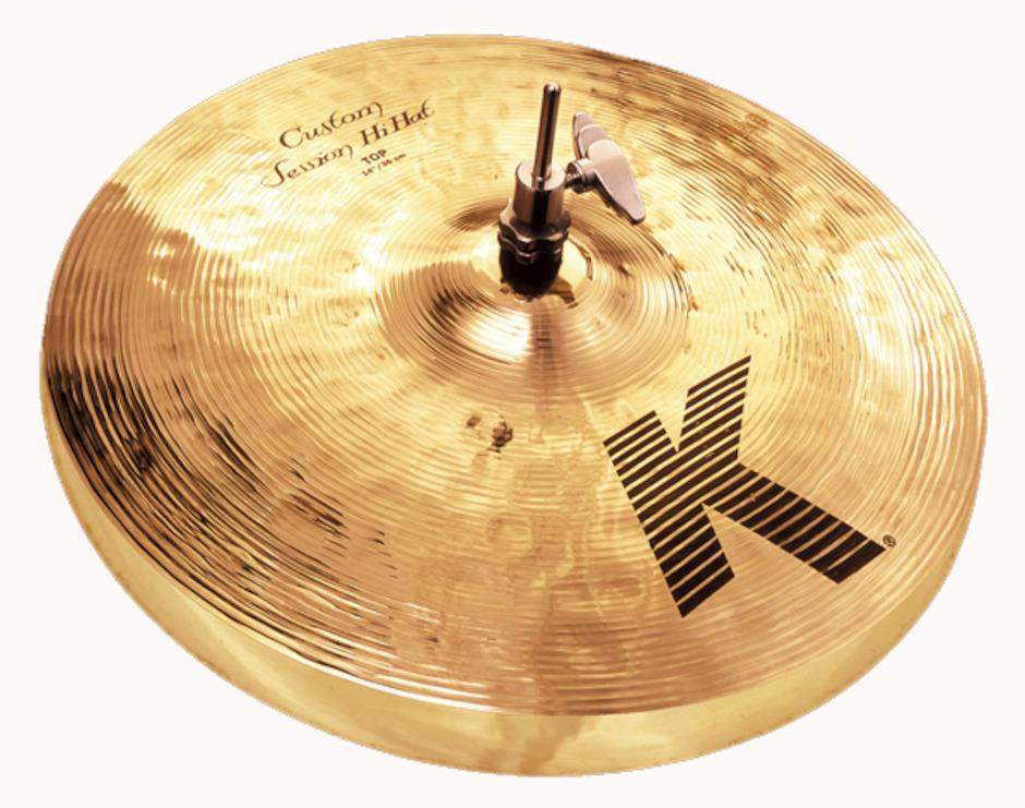 """Billede af Zildjian 14"""" K Custom Session Hihatbækken"""