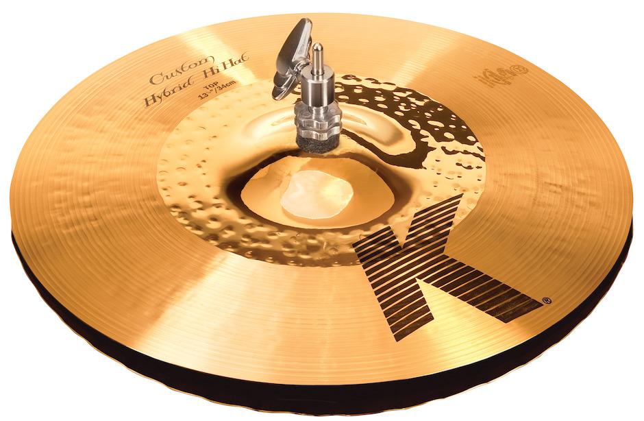 """Billede af Zildjian 13-1/4"""" K Custom Hybrid Hi-hat"""