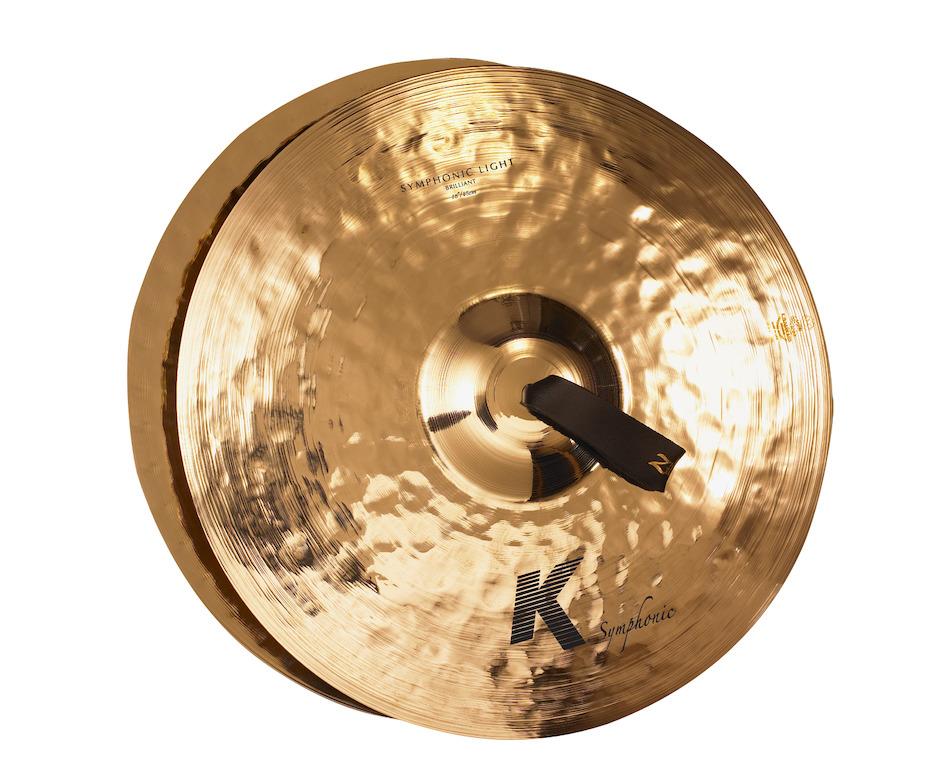 """Billede af Zildjian 18"""" K Symphonic Light (Brilliant) Pair Orkesterbækkener"""