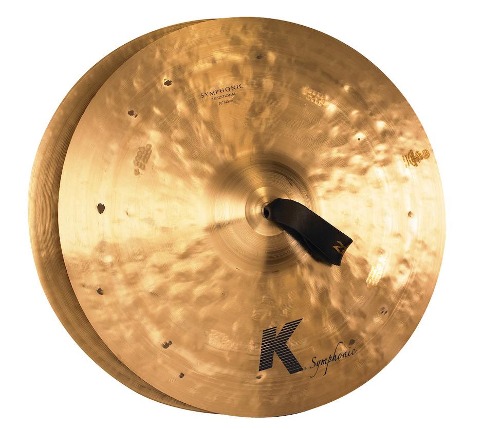 """Billede af Zildjian 18"""" K Symphonic Pair Orkesterbækkener"""