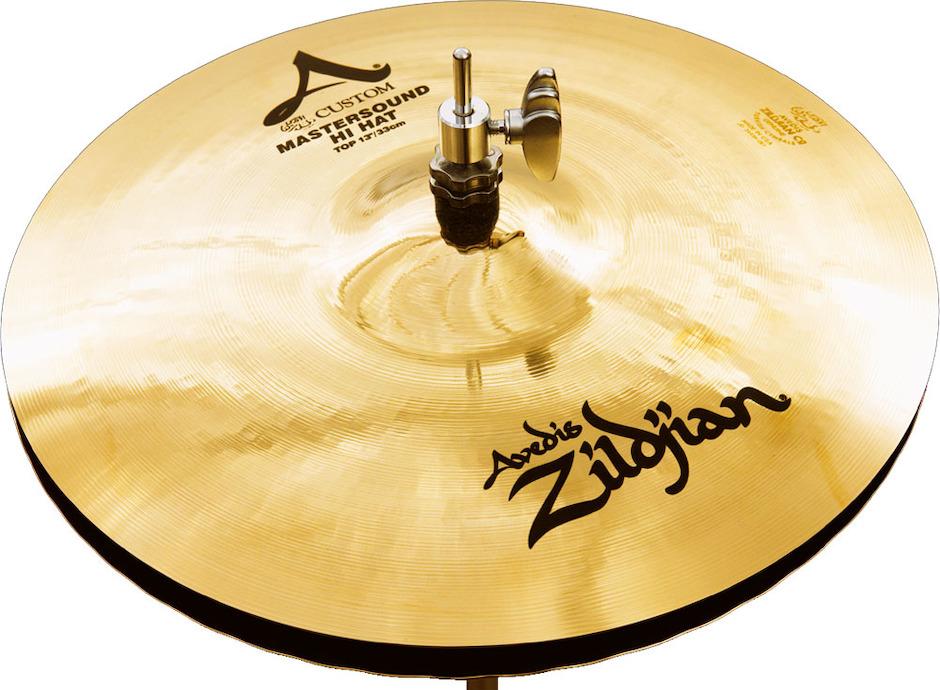 """Billede af Zildjian 13"""" A Custom Master Sound Hi-hat"""