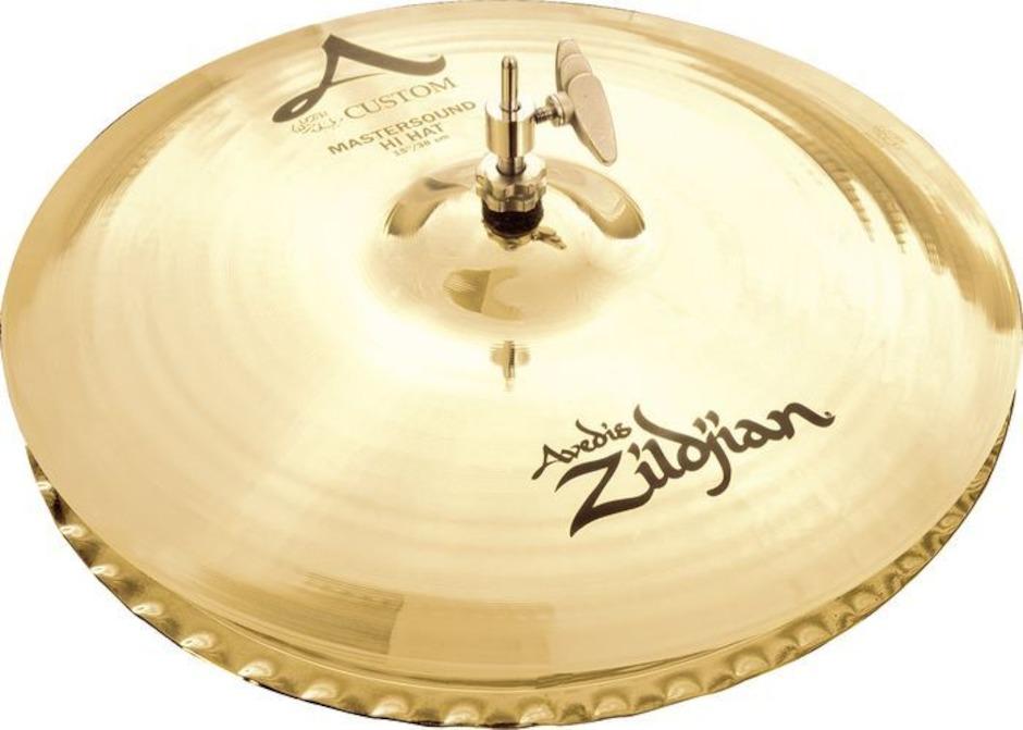 "Billede af Zildjian 14"" A Custom Master Sound Hihatbækken"