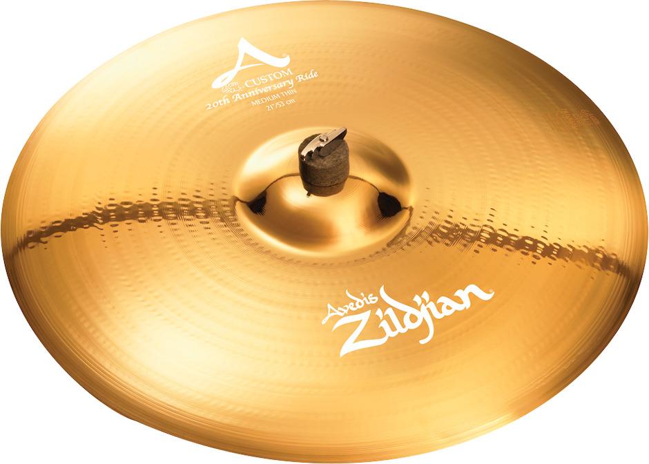 """Billede af Zildjian 21"""" A Custom 20th Anniversary Ridebækken"""