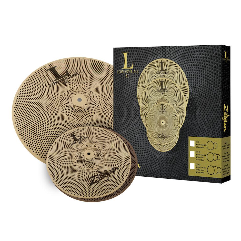 Billede af Zildjian LV38 Low Volume Cymbal Pack