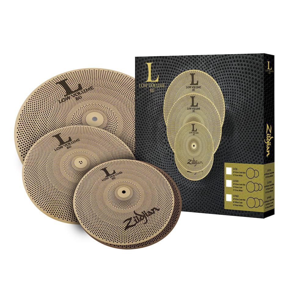 Billede af Zildjian LV348 Low Volume Cymbal Pack