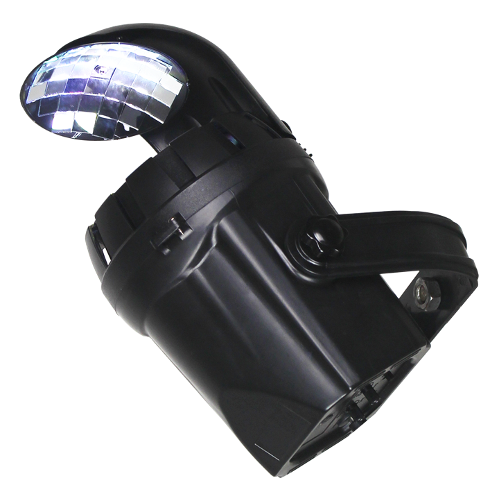 Image of   Ibiza light 2-i-1 disko effekt med 10W hvid LED