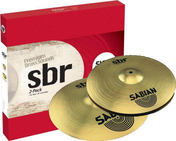 Billede af Sabian SBr 2-Pack Bækkenpakke