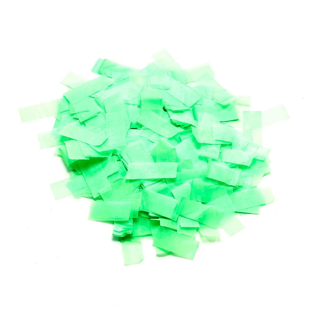 Billede af UV aktiv Papir konfetti Grøn (UV aktiv)