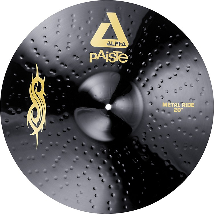 "Billede af Paiste 20"" Black Alpha Slipknot Edition Metal Ride DEMO"