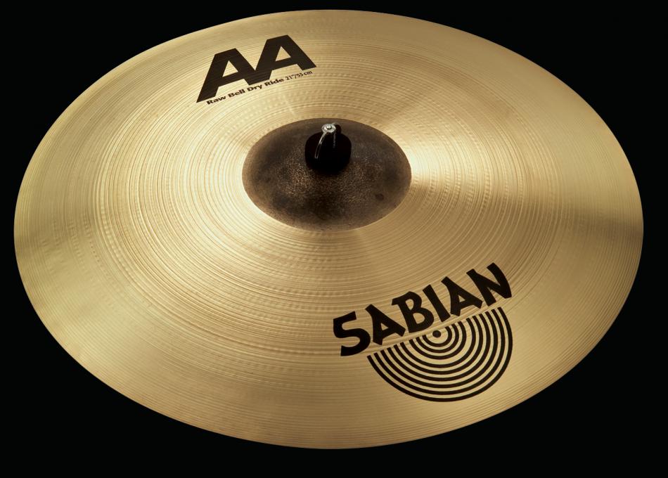 """Billede af Sabian 21"""" å Raw Bell Dry Ride"""