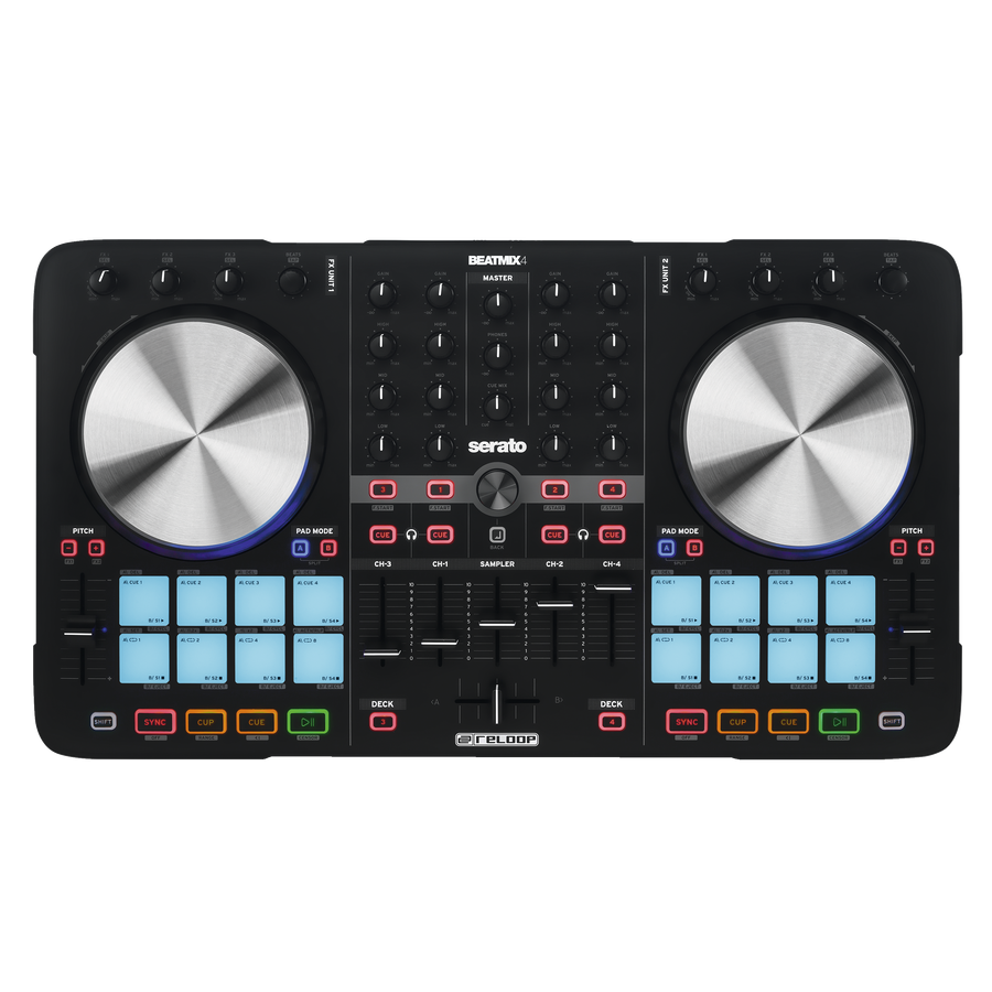 Billede af Reloop Beatmix 4 DJ controller