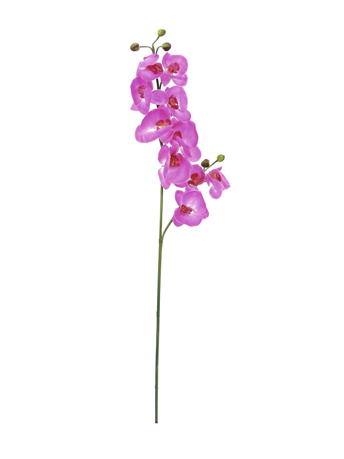 Billede af Kunstig Orchidspray, purple, 100cm