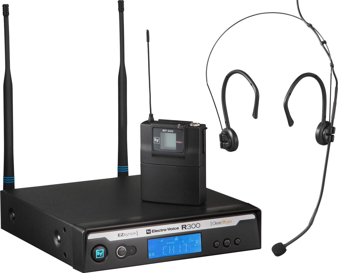 Billede af Electro-Voice R300-E Trådløs Headset mikrofon Frekvensbåndbredde A (618 - 634 MHz)