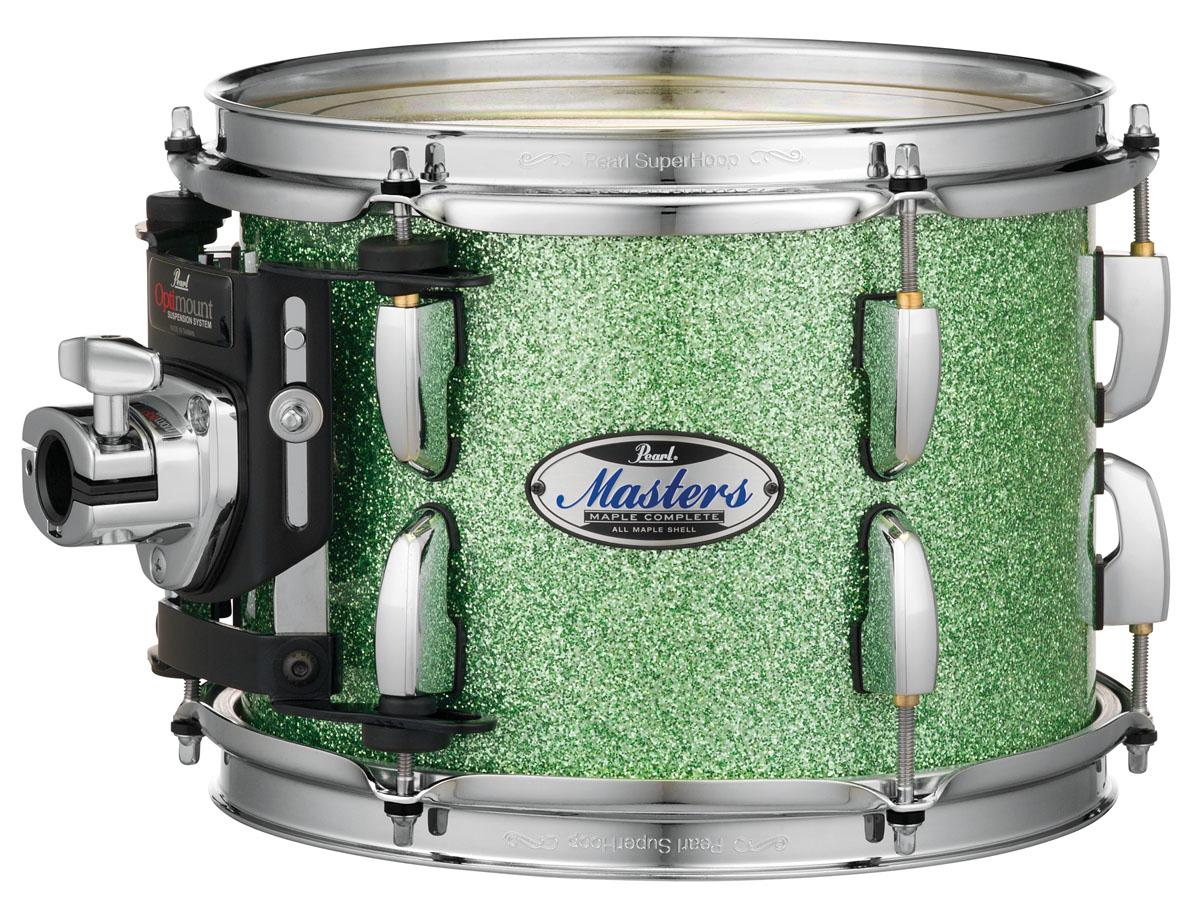 Billede af Pearl Masters Maple Complete Trommesæt Absinthe Sparkle