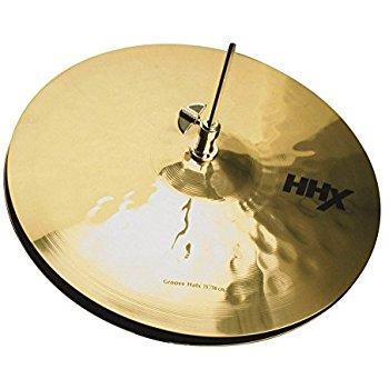 """Billede af Sabian HHX 15"""" Groove """"Rock"""" Hi-hat, Brilliant Finish (Limited)"""