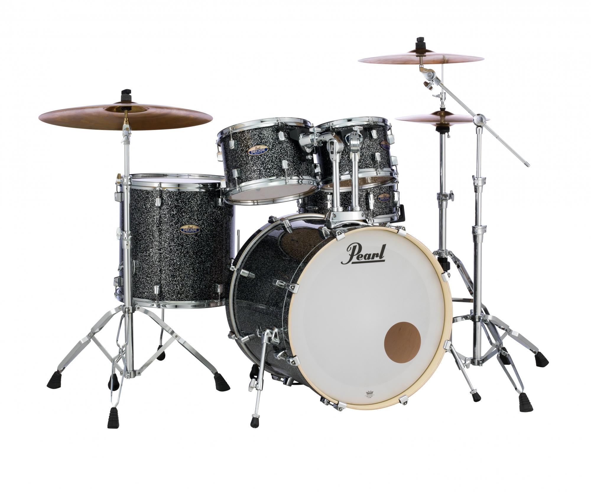 Billede af Pearl Decade Maple Standard Trommesæt Slate Galaxy Flake