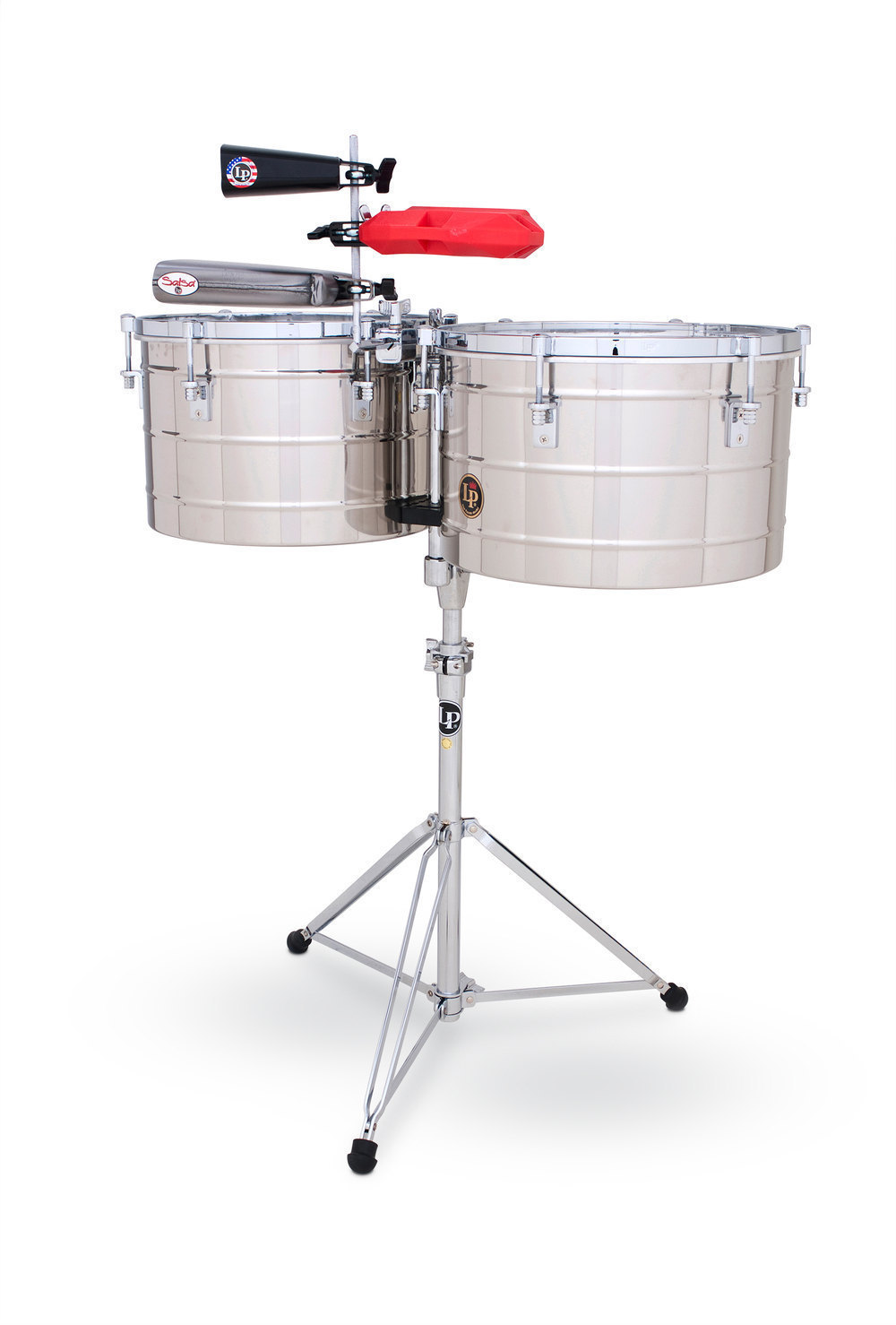 Billede af Timbals Tito Puente Thunder Timbs Stainless Steel